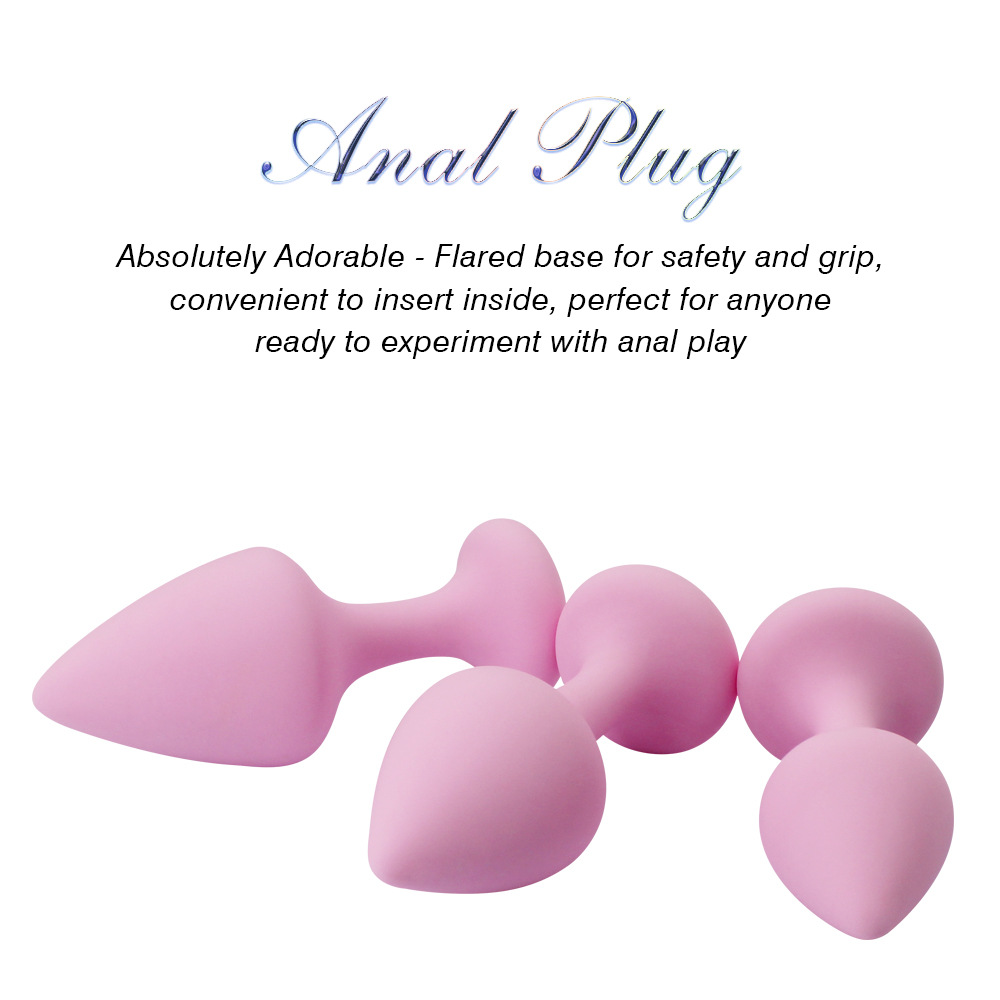 Beginner use of anal plugs
